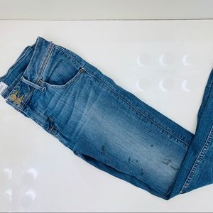 Hudson Jeans Jeans - Hudson naturally distressed stained jeans 28x28